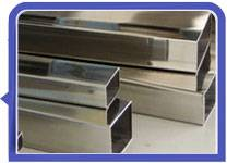 317L polished stainless steel rectangular tube