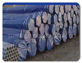Stainless Steel 317L Pipes Packaging