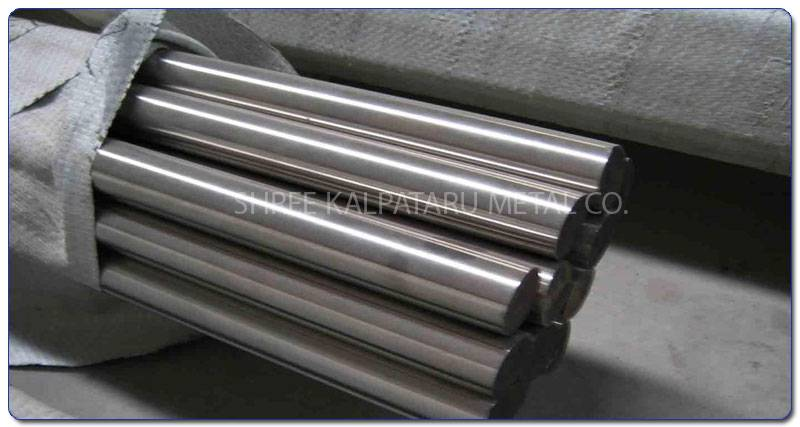 Original Photograph Of Stainless Steel 317L Rods At Our Warehouse Mumbai, India