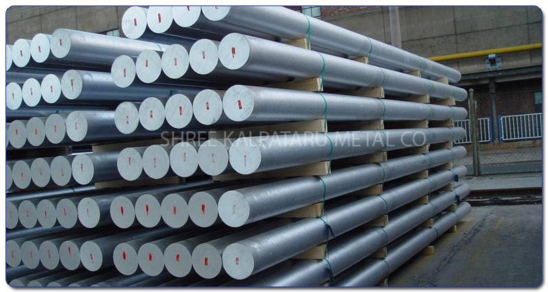 Original Photograph Of Stainless Steel 317L Round bars At Our Warehouse Mumbai, India